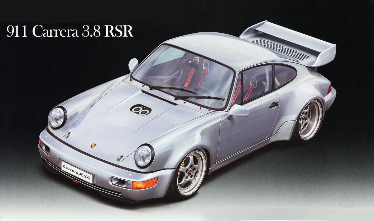 1/24, 911 Carrera 3,8 RSR reúne modelo de coche 12664