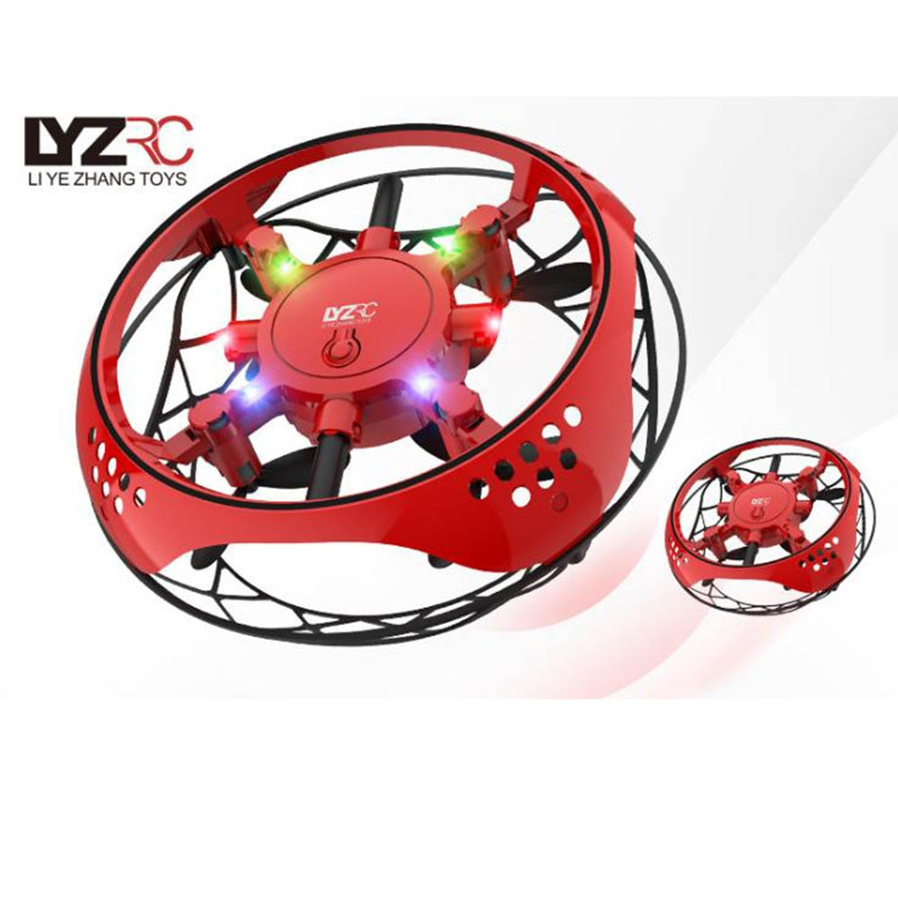 Mini Drone Sensor Aircraft Mini UAV Drop Flight Gyroscope Children Toy GIft