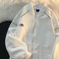 korean chic streetwear women jackets vintage harajuku ulzzang oversize jacket japanese preppy style zipe up female coats