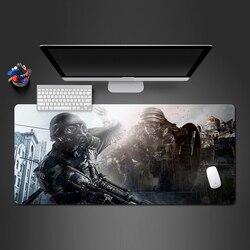 Forças especiais super soldado guerra jogador recool competitivo mouse pad borracha natural de alta qualidade notebook teclado