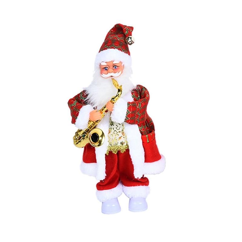W3JF детская игрушка электрический Санта-Клаус креативная игрушка для детей 3 лет/взрослых музыка и танцы