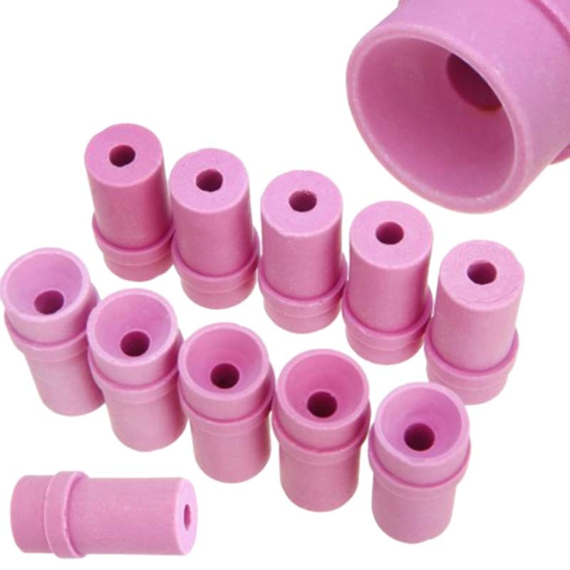 10 pontas cerâmicas do bocal aiir sandblast dos pces para ferramentas pneumáticas do sopro de areia bocais de sopro 2x1.5x 4mm/5mm