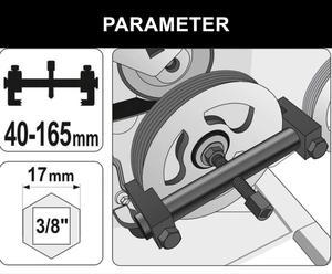 Image 3 - Съемник шкива коленчатого вала, съемник шкива генератора, инструмент для ремонта автомобиля