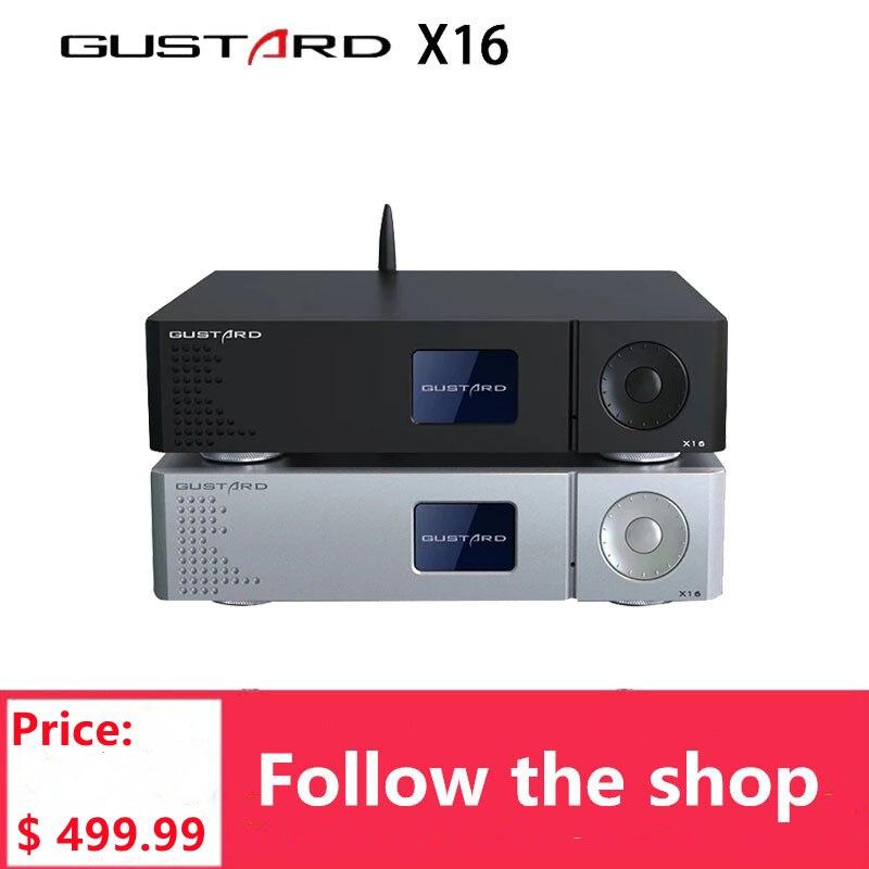 غوستارد DAC-X16 فك التشفير المزدوج ES9068 متوازنة فك بلوتوث 5.0 MQA كامل ديكودين