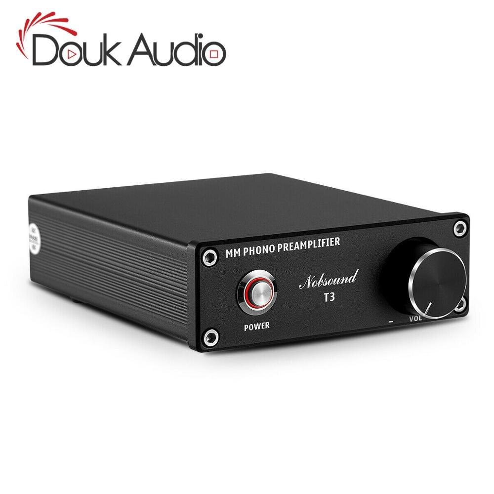 Douk audio HiFi MM Phono Stage Preamplificatore RIAA Giradischi Mini Preamplificatore Turntable Amplificatore