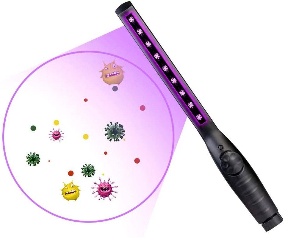 USB portable UVC disinfection stick personal care travel sterilizer ultraviolet disinfection lamp ba