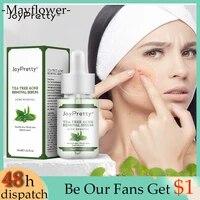 tea tree oil acne removal treatment face serum moisturizer nourish purify skin shrink pores 30ml against acne cream facial care
