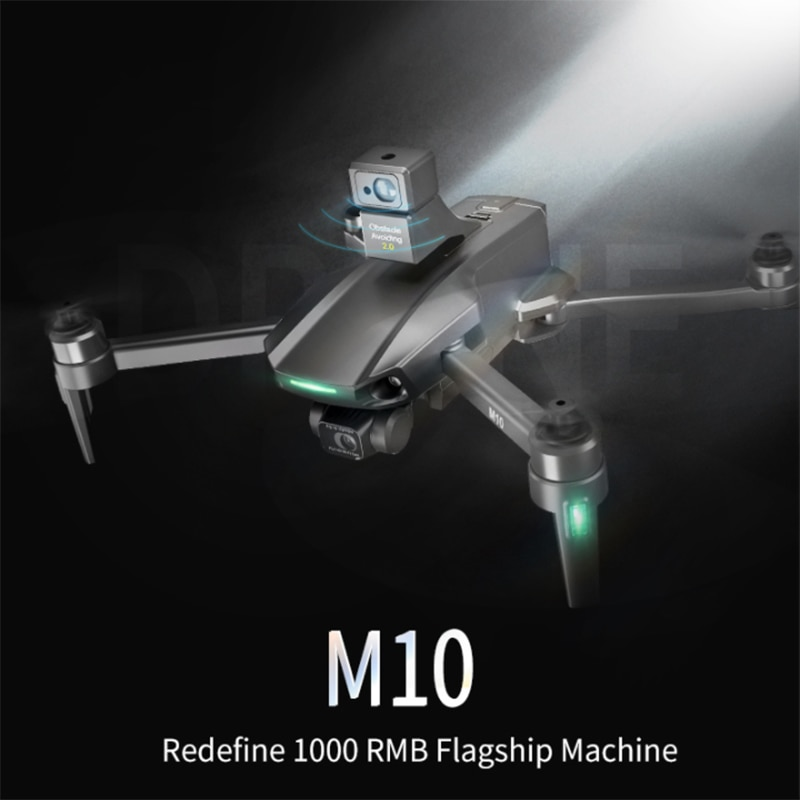 BABY DAIRY M10 MAX Drone 8k Camera Gps 5G Wifi 3 Axis Gimbal Camera Brushless Motor TF Card 1.2km Distance Rc Quadcopter Pro enlarge