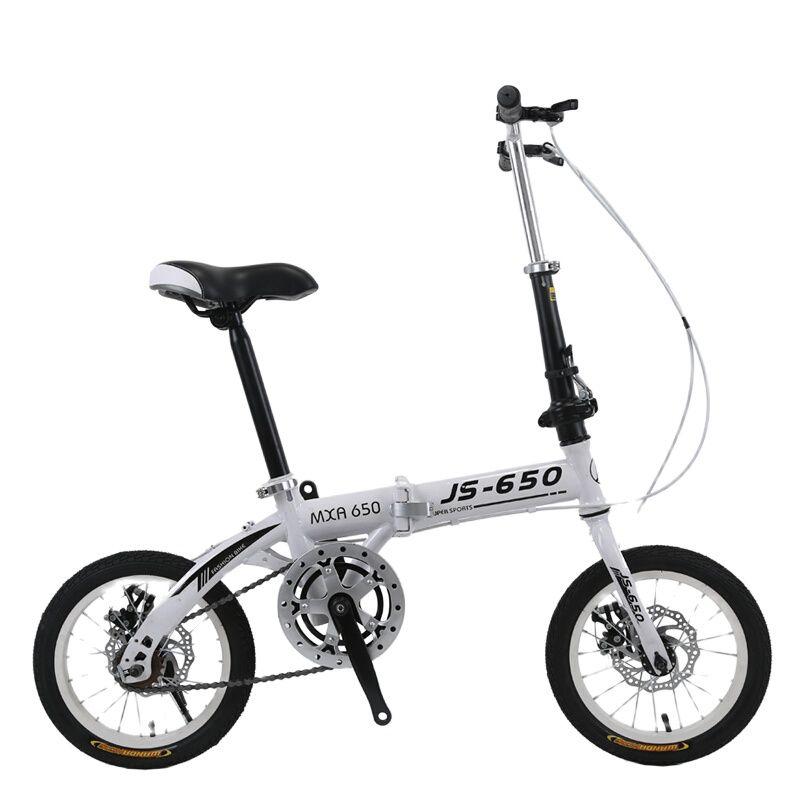 للطي دراجة الكبار الأطفال الطلاب متغير السرعة مكبح قرصي دراجة 16 بوصة الرجال والنساء المحمولة