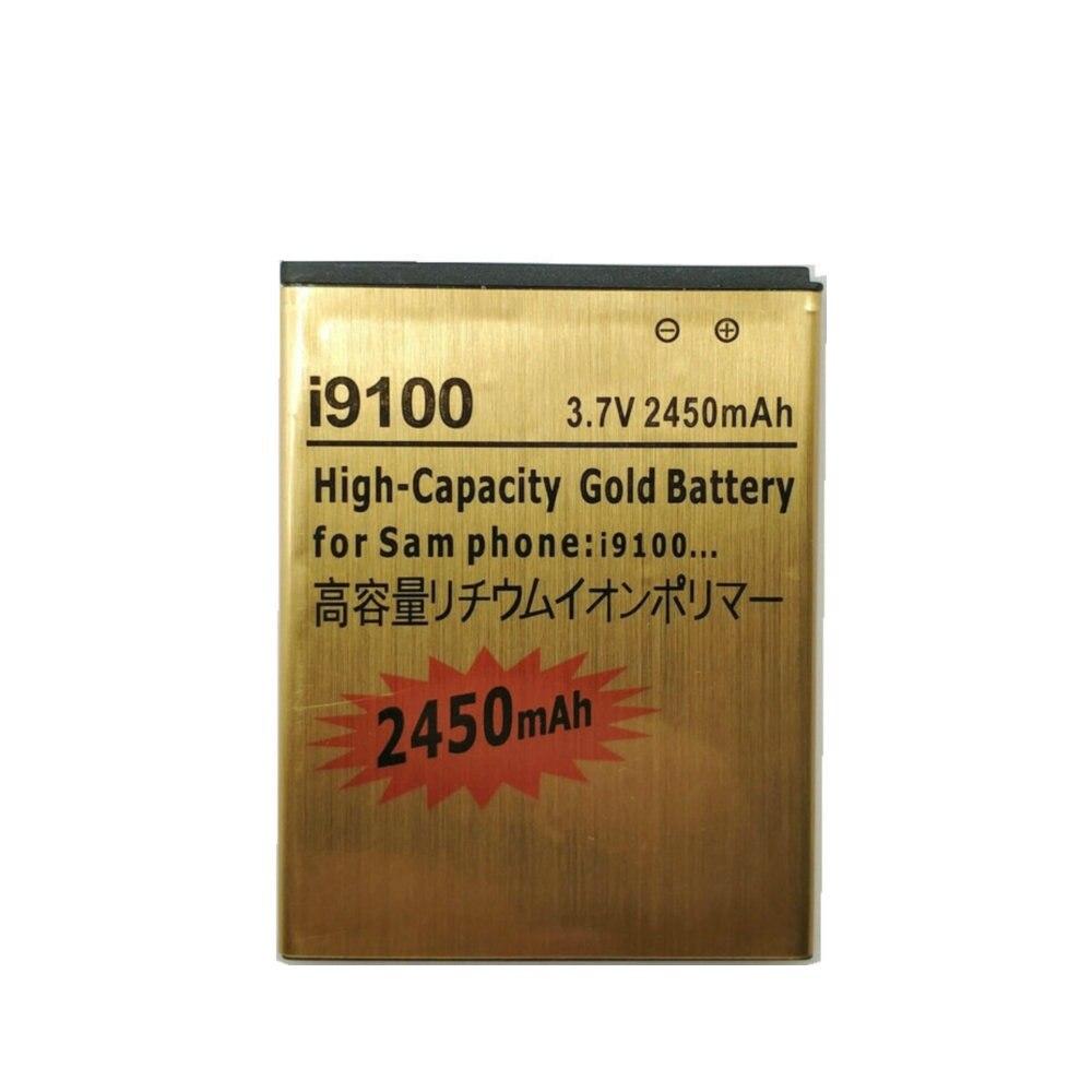 Novo EB-F1A2GBU 2450 mah bateria para samsung galaxy s2 s 2 ii i9100 GT-i9100 i9103 sii i9105 baterias de telefone