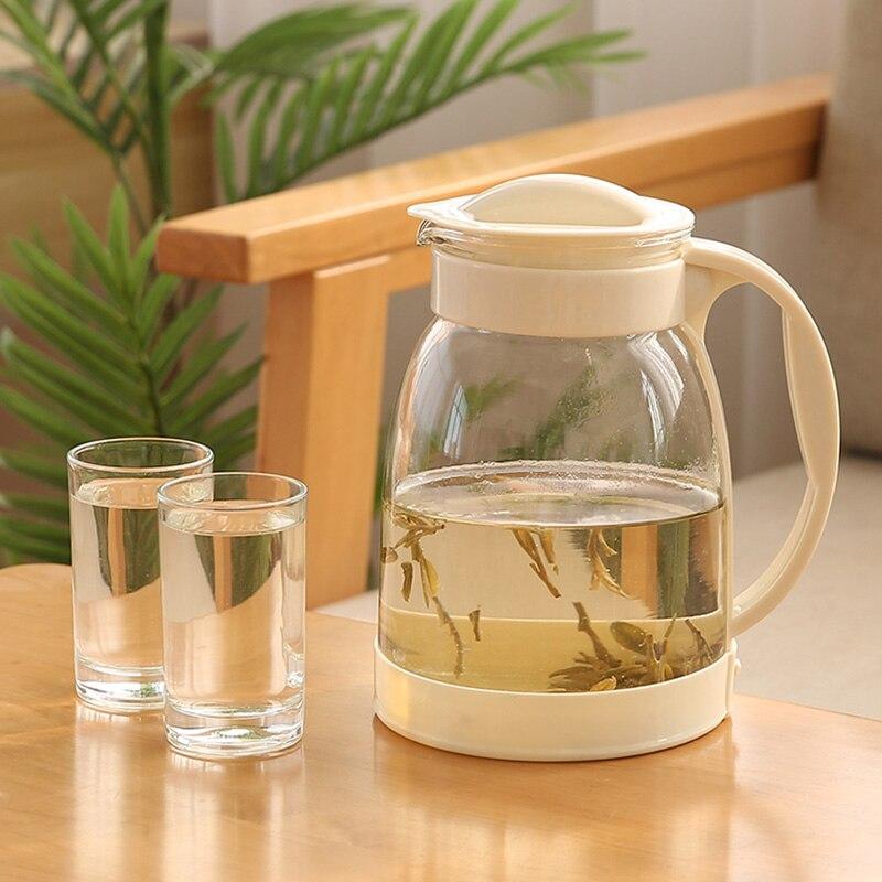 عصير تخزين إبريق زجاجي للماء إبريق الشاي قدرة عالية اليابانية الشمال إبريق الماء شفافة Carafe Eau لوازم المطبخ DE50SH
