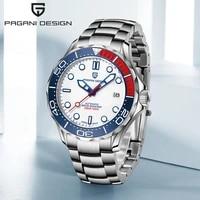 pagani design 2021 new mens mechanical automatic watch top brand luxury men watch stainless steel waterproof nh35 orologio uomo