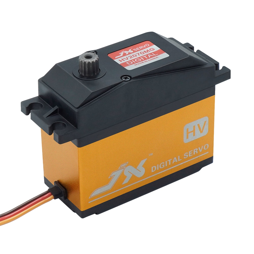 JX PDI-HV2070MG 70KG HV Metal gear Digital Servo For 1/5 Car compatible With SAVOX-0236 LOSI XL 5T BAJA Rc Model  Crawler parts enlarge