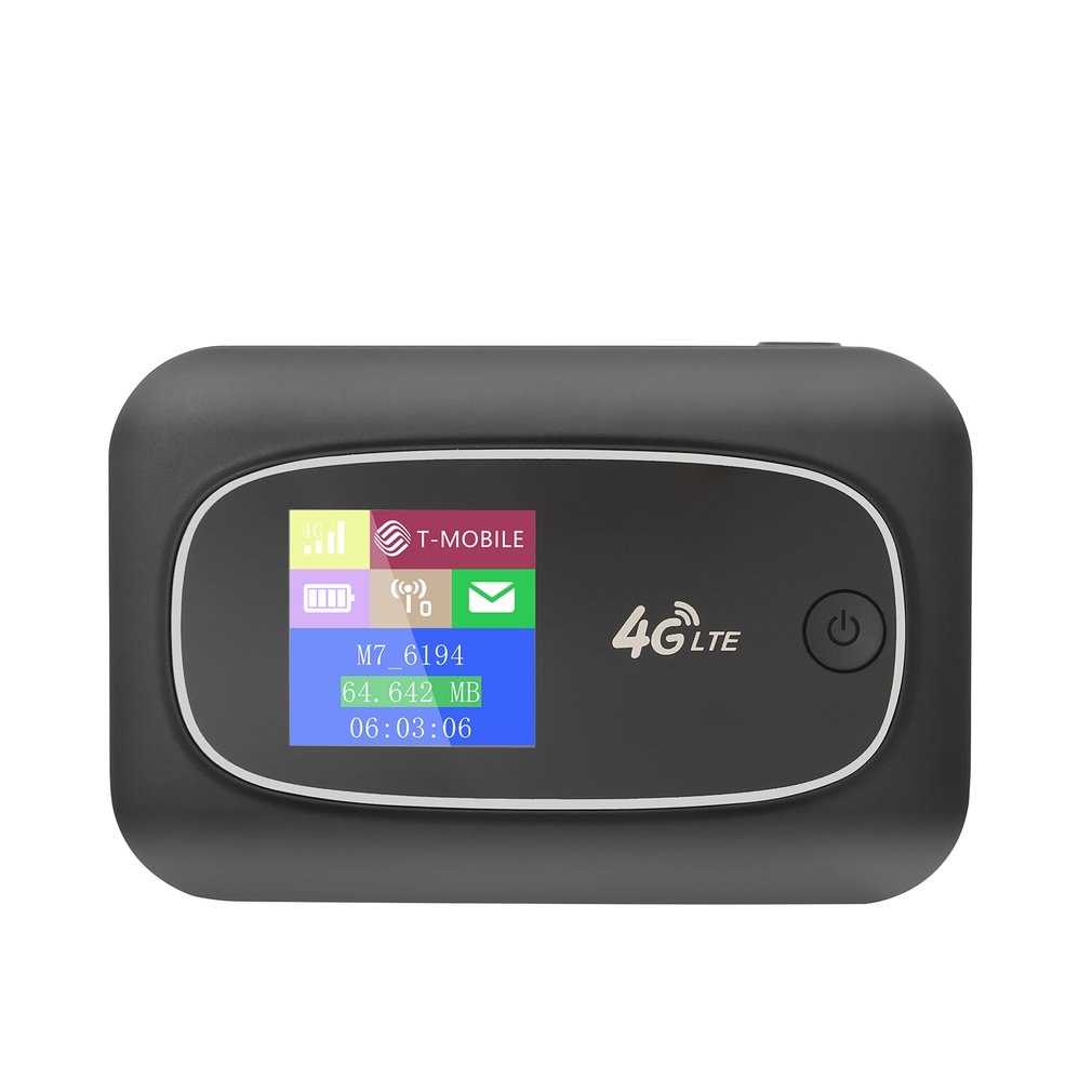 جهاز توجيه 4G لاسلكي واي فاي 4G LTE أجهزة توجيه بطاقة Sim جهاز توجيه شبكة مشتركة عالية السرعة مع بطاقة SIM و TF فتحة للبطاقات