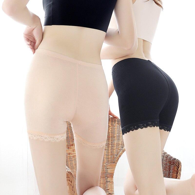 Big-Size Verão M-XXXL Cuecas Mulheres Se Vestem Calções Sono Seguro segurança Elástico Lingerie Sem Costura boyshorts lady macio panty