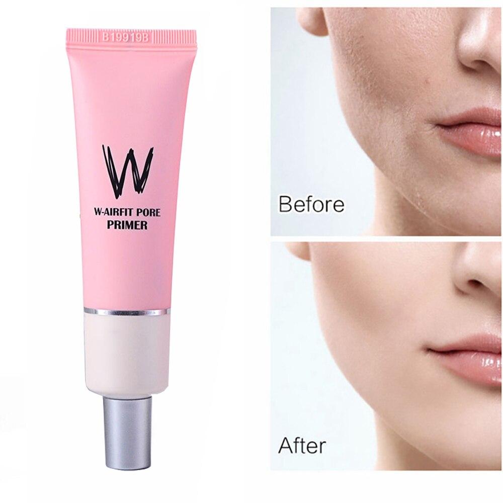 Korea Cosmetics Facial Primer Base Makeup for Face Brighten Skin Pore Concealer Primer Cream Rose Essence Before Foundation