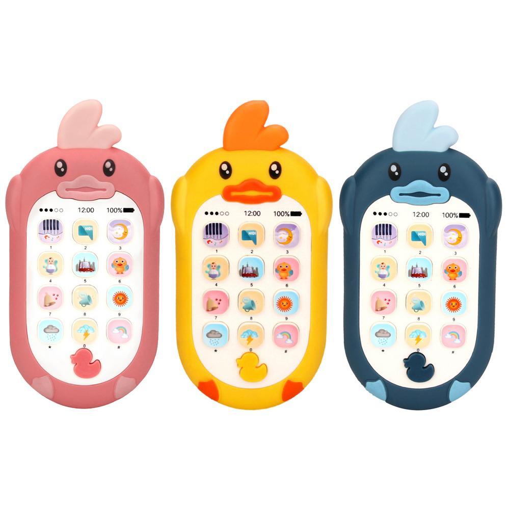 Фото - Многофункциональный Детский телефон электронная музыка Детский сотовый телефон обучающая музыкальная головоломка игрушка Телефон обучаю... сотовый телефон