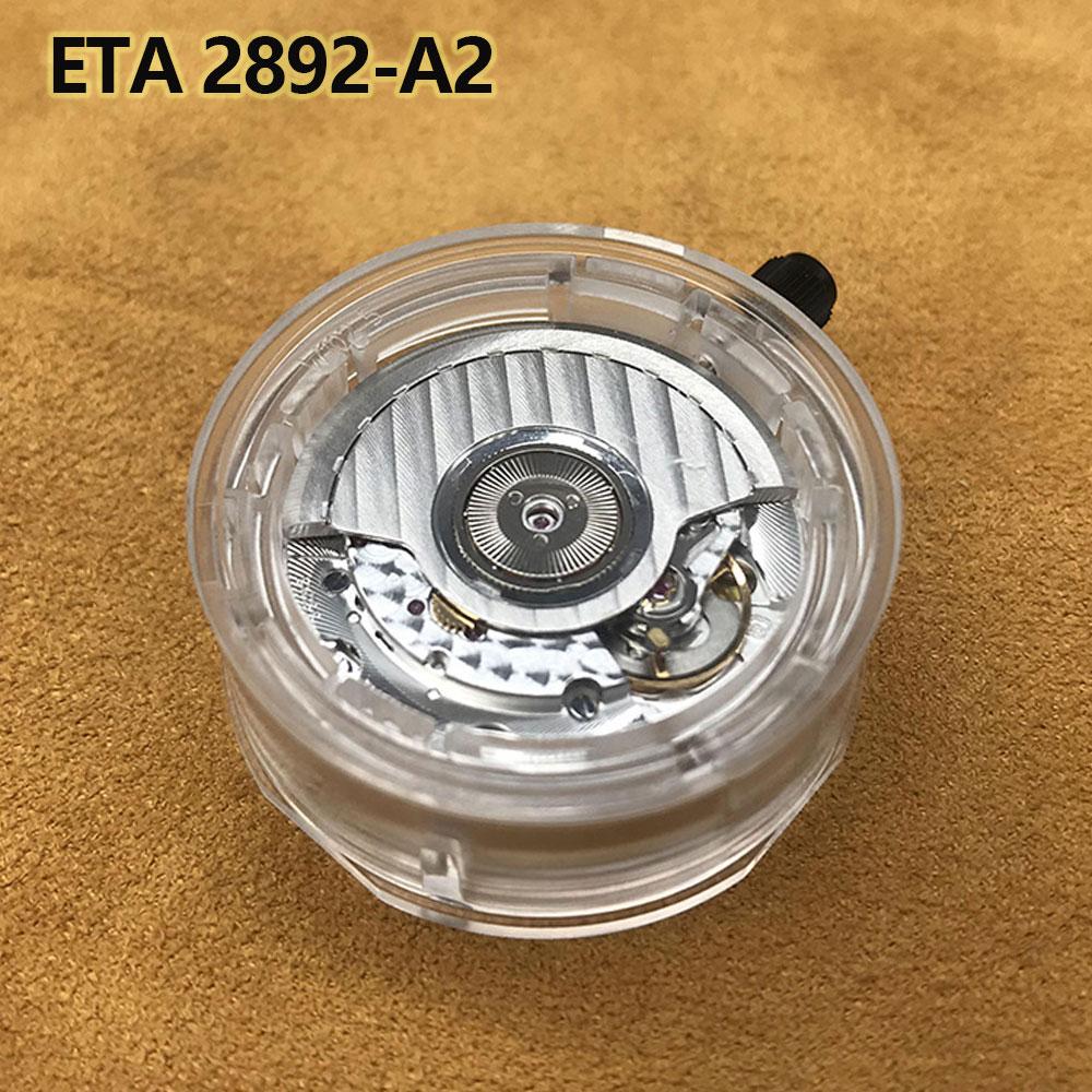 Swiss The ETA  2892-A2 Is Based On The Original ETA Caliber 2892 Automatic Watch Movement 21 Jewels Self-Winding