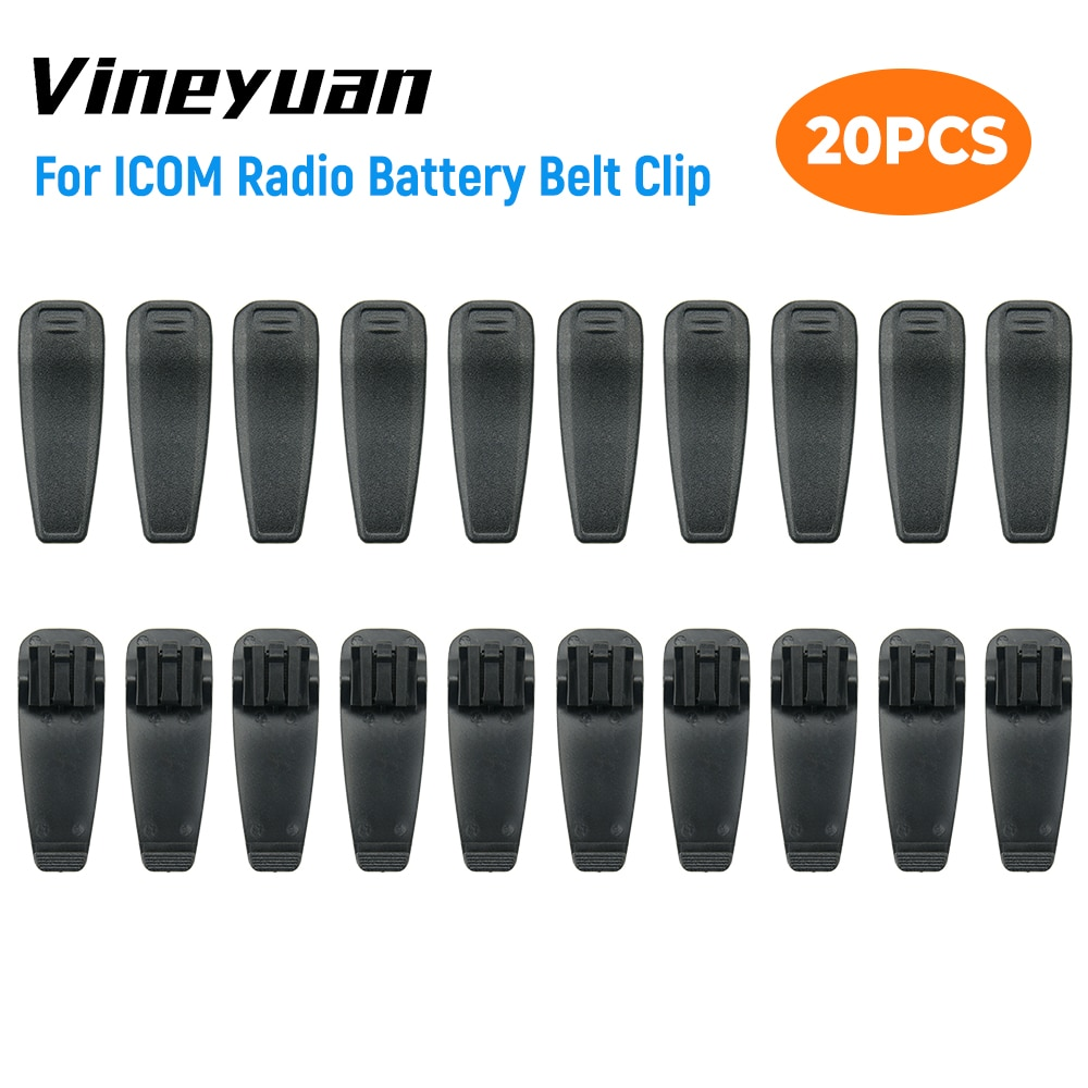 4x bp 279 bp 280 bp 280li battery belt clip 20X BP-265 BP-265LI Battery Belt Clip for ICOM IC-F4002 IC-F3003 IC-F4003 IC-T70A IC-T70E IC-V80 IC-V80E Walkie Talkies