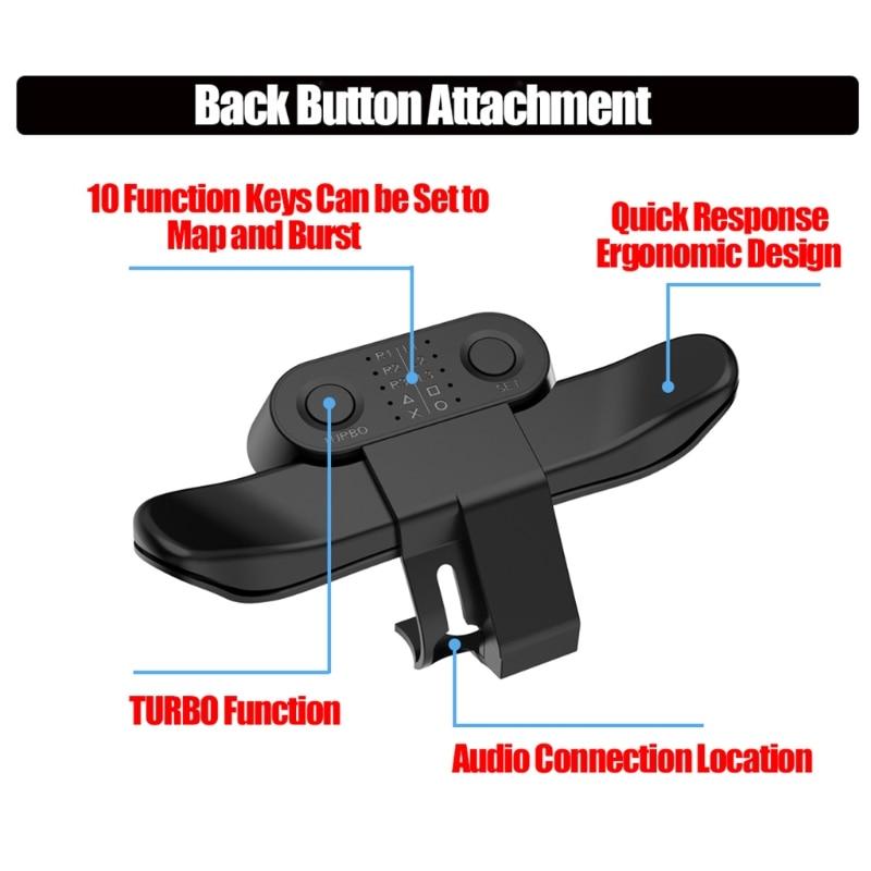 Mando extensible con botón trasero Joystick con adaptador de llave Turbo solo...