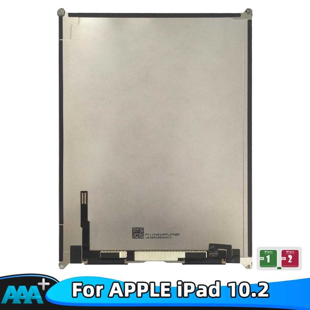 100% testowany ekran LCD wyświetlacz szklany Panel dla Apple iPad 7 10.2 2019 7th Gen A2197 A2198 A2200 wymiana naprawa dla iPad 10.2