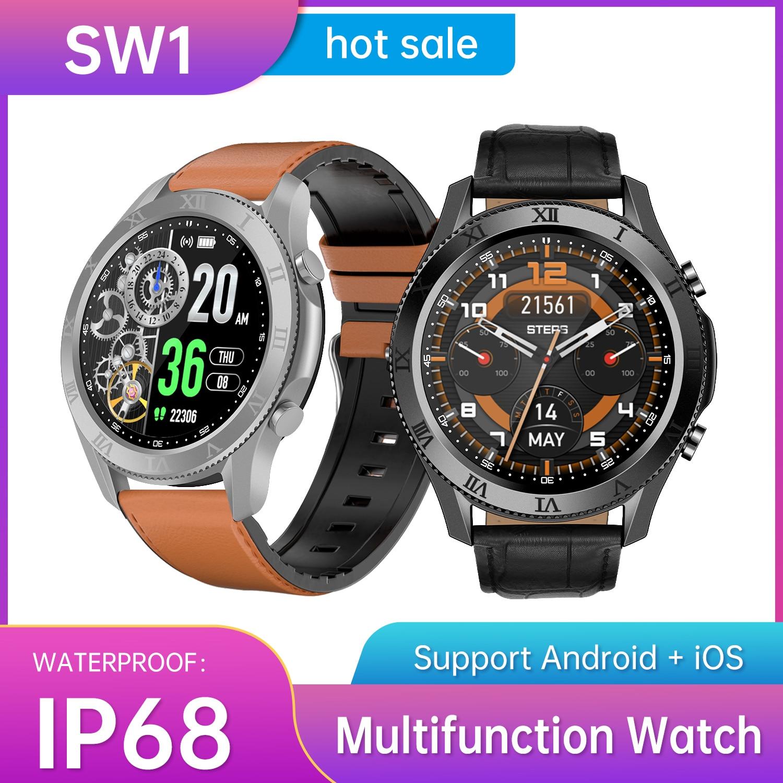 New Arrived SW1 Smart Watch Men 2021 Sports Inteligent Bluetooth Call Womens Digital Fitness Samsang Galax Huawe Smartwatch enlarge