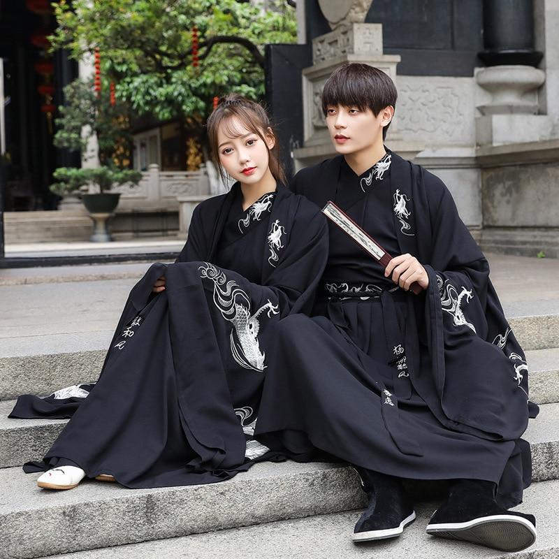 كيمونو فستان الرجال الساموراي زي تأثيري سترة يوكاتا اليابانية التنين التطريز اليابانية التقليدية تأثيري حفلة هالوين