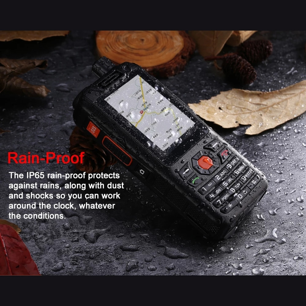 UNIWA Alps F25 Mobile Phone Quad Core Zello Walkie Talkie MTK6735 1GB+8GB WCDME/LTE Cellphone PoC Radio Smartphone 3500mAh GPS enlarge