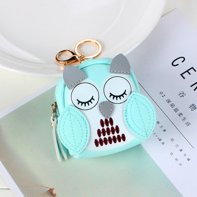 Cartoon Cute Women's Coin Purse Fashion Trend Fresh and Elegant Princess Style Small School Bag Key Chain Pendant Lady Wallet