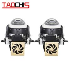 TAOCHIS Auto Auto Styling 2,5 inch Bi-LED projektor objektiv LED Kopf licht Objektiv Nachrüstung upgrade Universal Schnelle helle