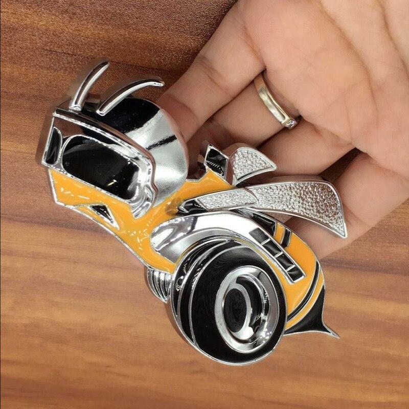 Insignia de Metal 3D de aleación de Zinc para puerta trasera de coche Super Bee, emblemas de insignia para Dodge, Jeep, Grand Cherokee, brújula, Wrangler, pegatina con estilo para coche