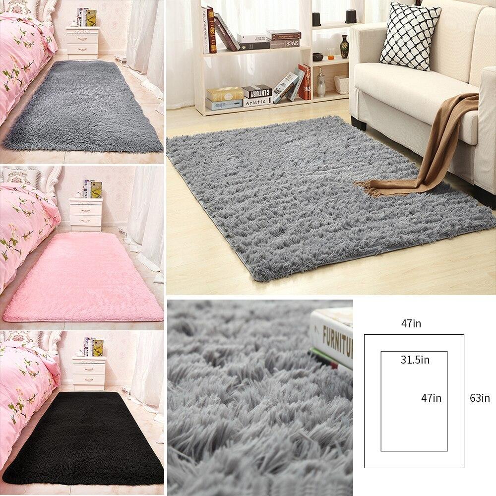 New Indoor Plush Carpet Rugs Soft Fluffy Rug  For Living Room Bedroom/Study/corridor Soft Carpets Child Bedroom Mat Home Decor