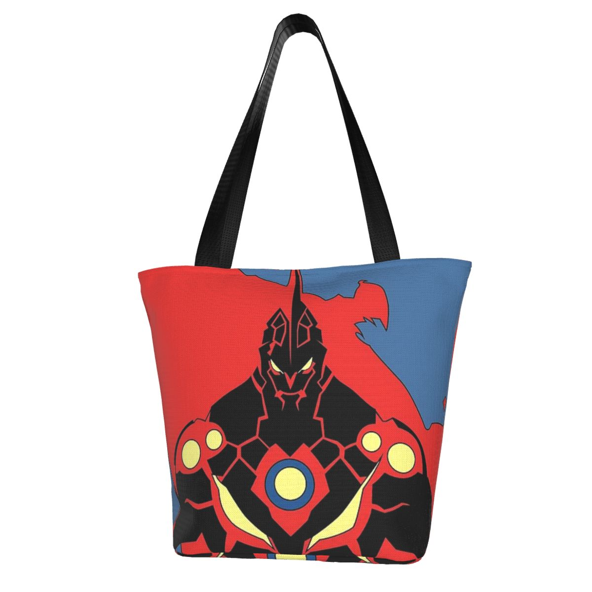 Сумка для покупок Gurren Lagann, студенческие сумки оптом, стильные тканевые дорожные сумки