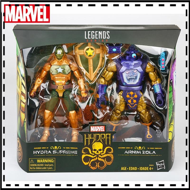 Hasbro-figura del personaje de Marvel, 15cm, traje del capitán Arnim Zola E5074,...