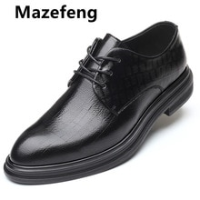 2021 New Men Dress Shoes High Quality Leather Formal Shoes Men Big Size 38-48 Oxford Shoes for Men F