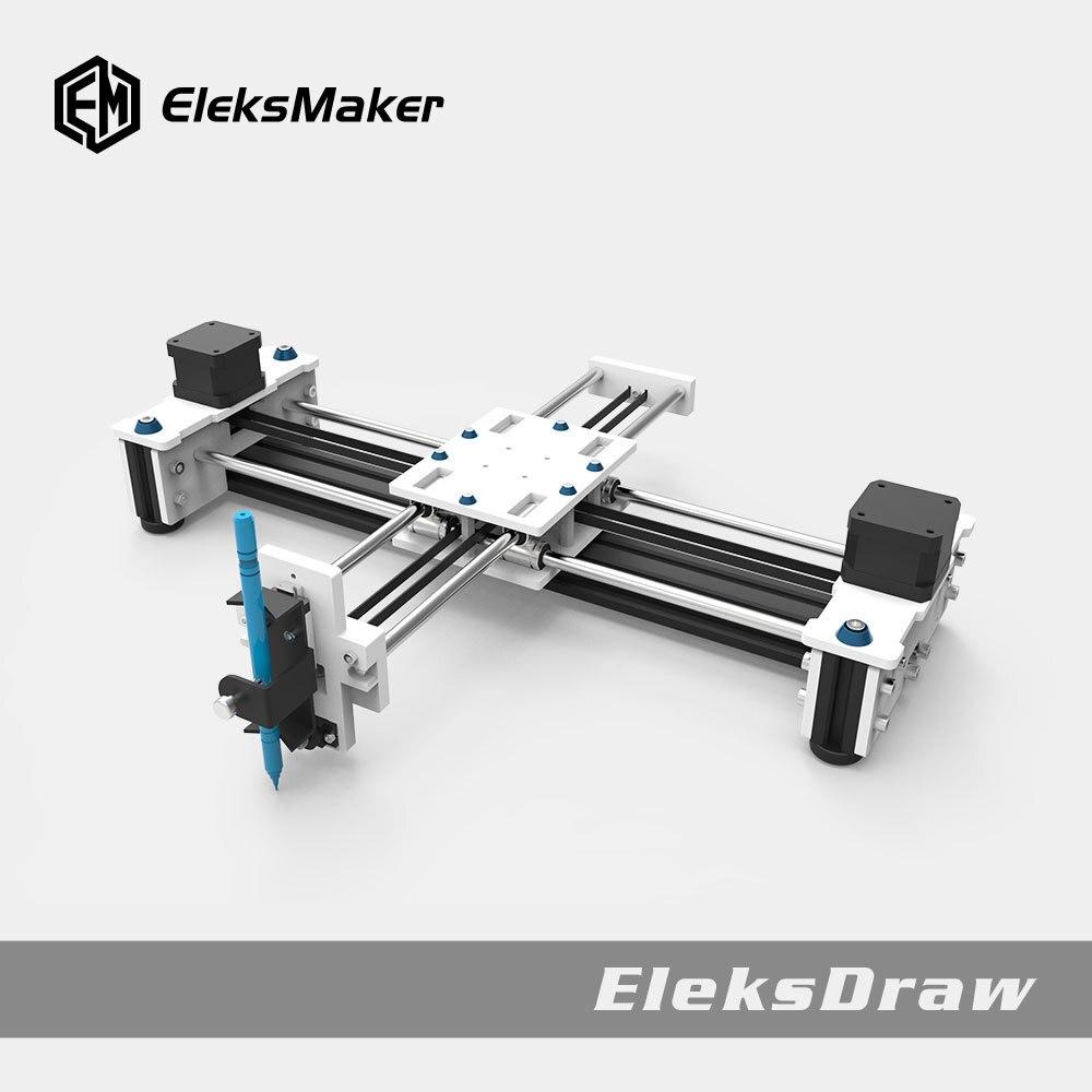 Dibujo máquina Robot dibujo Bot escritorio DIY Xy Plotter alta precisión CNC Robot Eleksdraw inteligente aparato