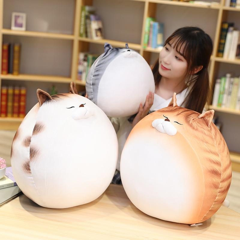 nice 1pc 35cm plush cat toys stuffed animal 2021 New Cartoon Cat Plush Toy 30cm Stuffed Soft Animal Pillow Cute Stuffed Plush Toys Kid Gift