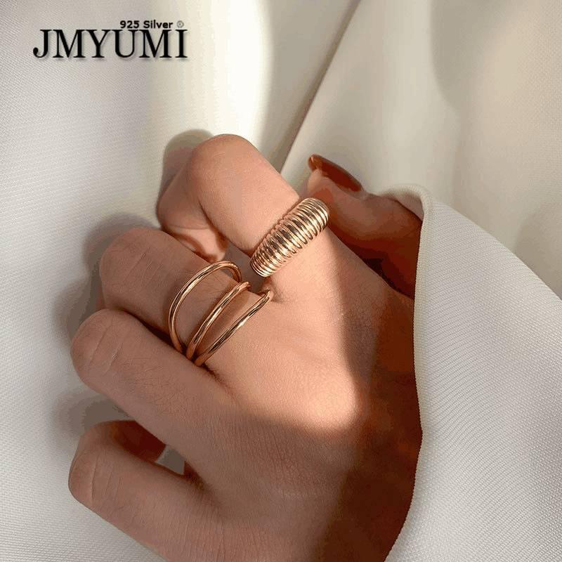jmyumi-925-Стерлинговое-серебро-золотой-цвет-геометрический-перстень-для-женщин-и-мужчин-Многослойные-линии-открытые-Фотообои