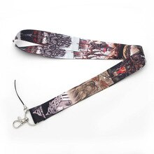 Viking Mobile Phone Lanyard Key Chain Creative Clip Badge Hang Rope Customizable Neck Strap Lanyards AL2262