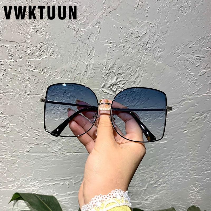 Gafas de sol VWKTUUN 2020 para mujer, gafas cuadradas UV400, gafas de sol sin gafas para conducir, gafas de sol de gran tamaño para mujer