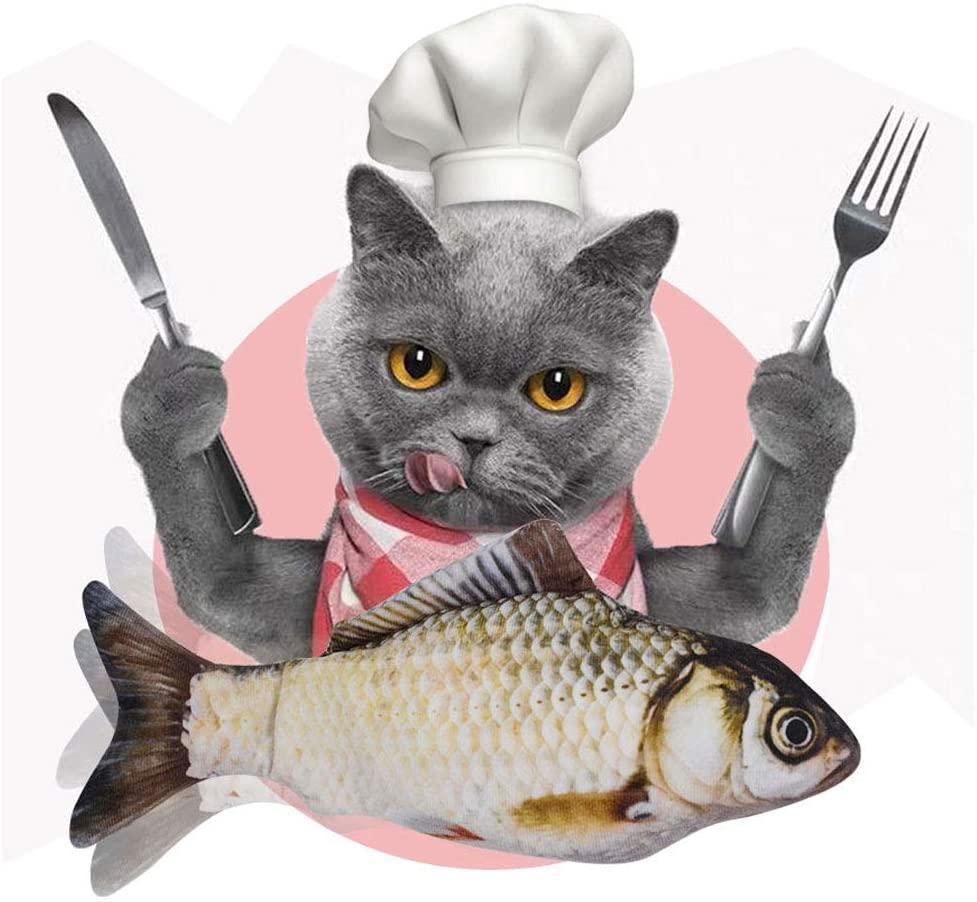 Animal de estimação de pelúcia 3d em forma de peixe gato brinquedo simulação travesseiro boneca simulação peixe gato brinquedo interativo