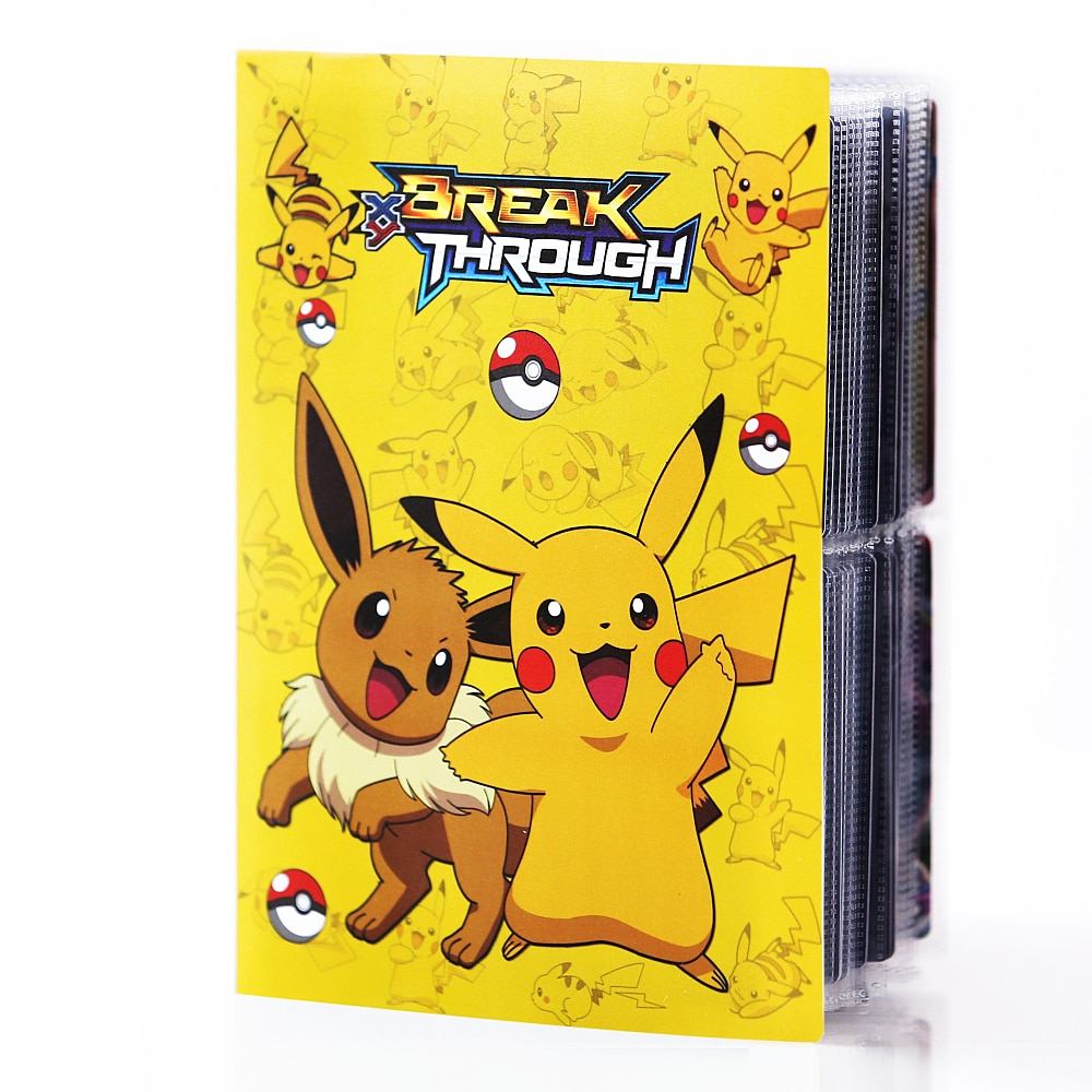 TAKARA TOMY – Album de cartes Pokemon, 80/240 pièces, dessin animé, TAKARA TOMY, cartes de jeu, VMAX GX EX, Collection, dossier, jouet Cool pour enfants, nouveau