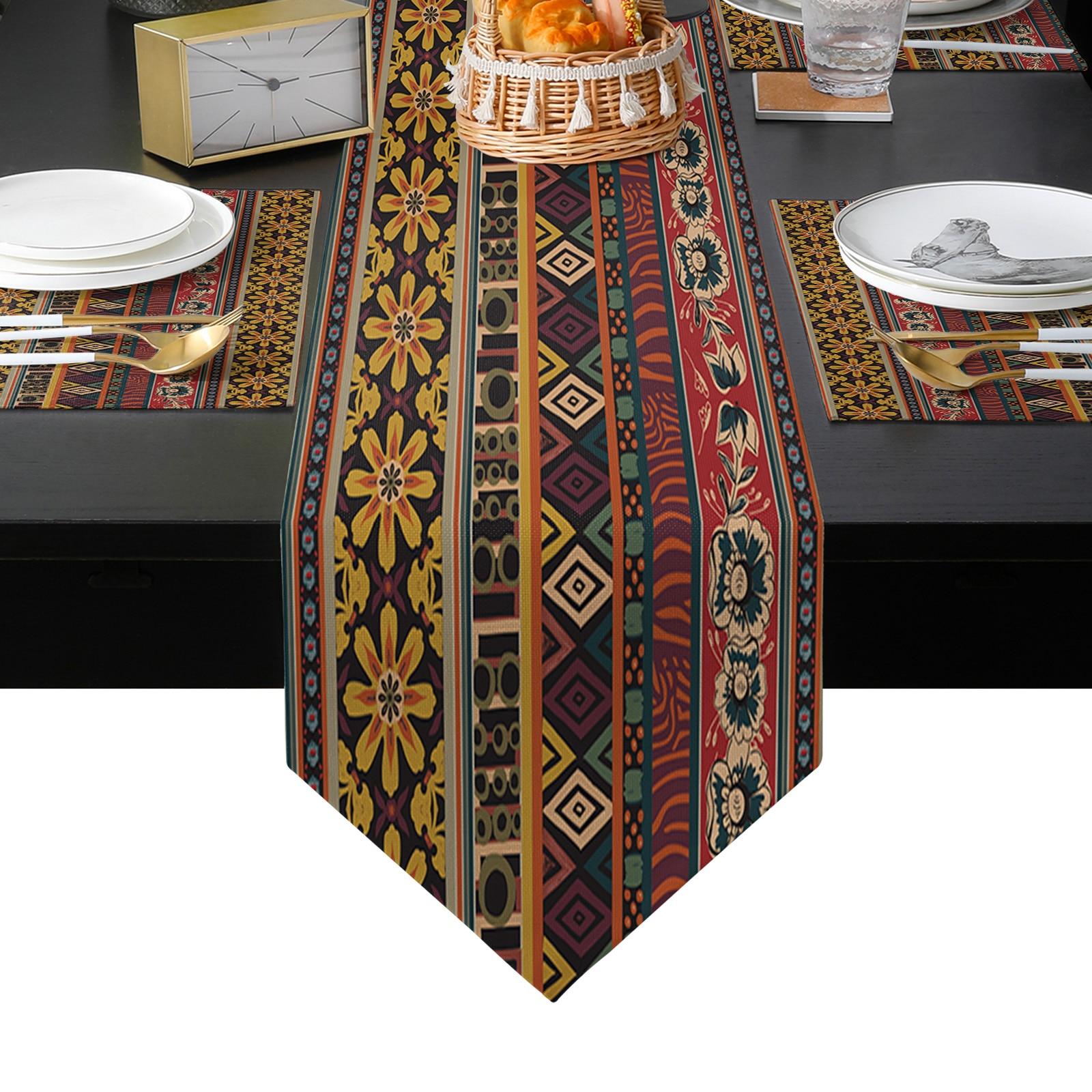 الرجعية الأوروبية نمط الجدول عداء الجدول الحصير غطاء للمنزل الزفاف مأدبة مهرجان حفلة التموين فندق الجدول الديكور