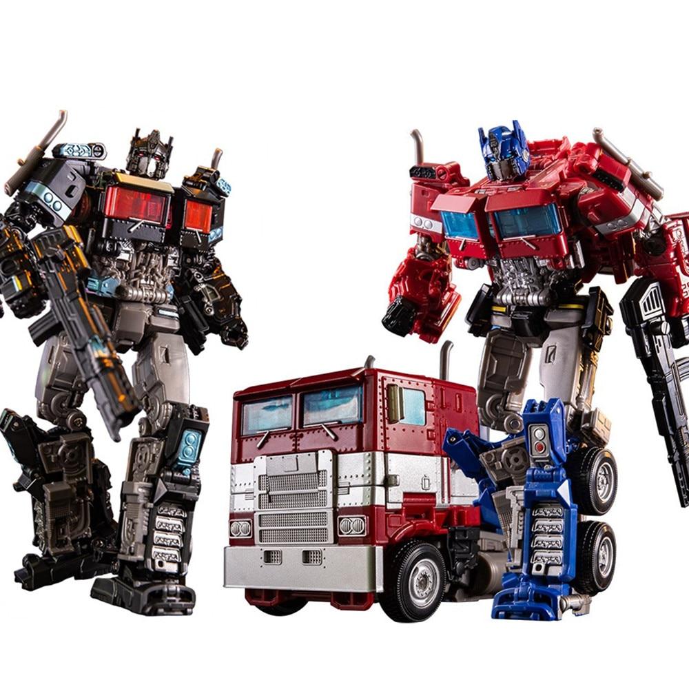 dickie toys машинка трансформер боевой трейлер optimus prime Трансформеры, игрушки Optimus Prime, фигурка SS38 OP Sai Star Commander, грузовик, трансформер, аниме фильм, модель-трансформер