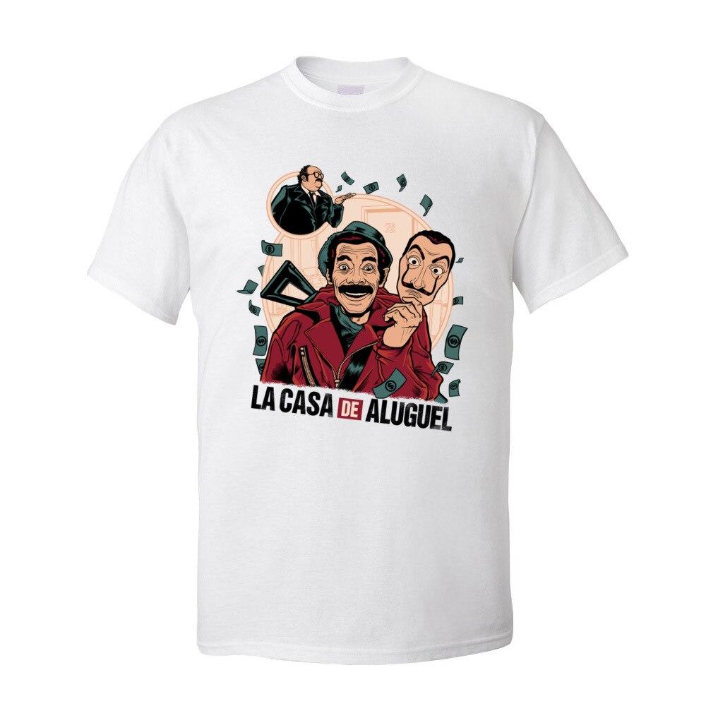 Camisetas para hombre La Casa de Aluguel camisetas nueva llegada La Casa...