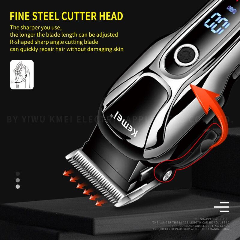 Barber Shop Hair Clipper Professional Hair Trimmer Men Beard Electric Cutter HairCutting Machine Haircut Cordless Corded Haircut enlarge