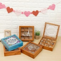home storage organization wooden box for tea tea boxes organizer candy boxes container for food wood box