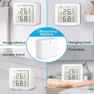 WIFI Temperature And Humidity Sensor Indoor Hygrometer Home Life Support Thermometer Tuya Smart APP V1G7