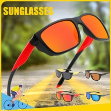 Outdoor Fashion Women Men's Sunglasses Sports Polarized Glasses Cross-border Bicycle Eyewear Anti-UV