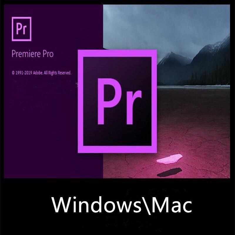 Software premiere pro cc 2020 editor de vídeo profissional & maker win/mac